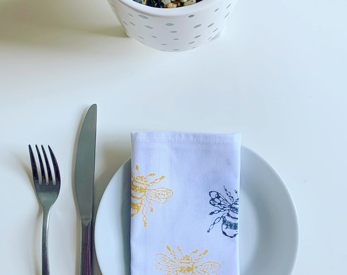 Bumble Bee Napkins