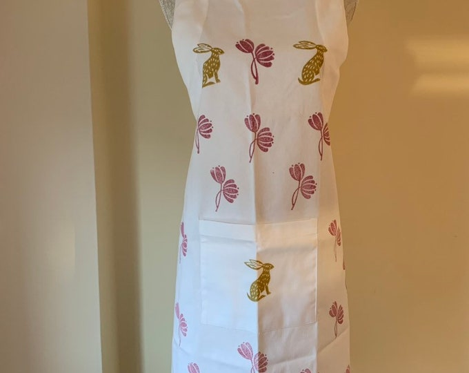 Spring Hare Apron