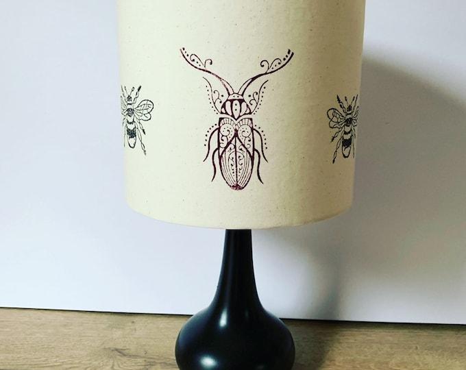 Beetle & Bee Lampshade