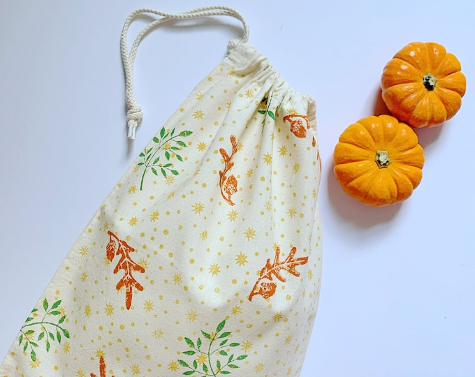 Autumn Bread Bag