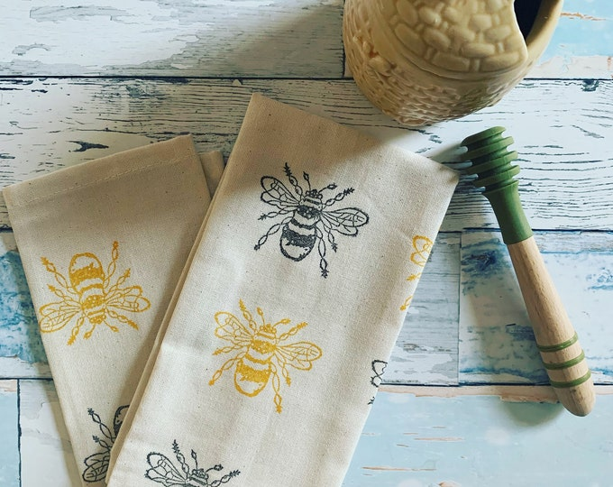 Bumble Bee Tea Towel