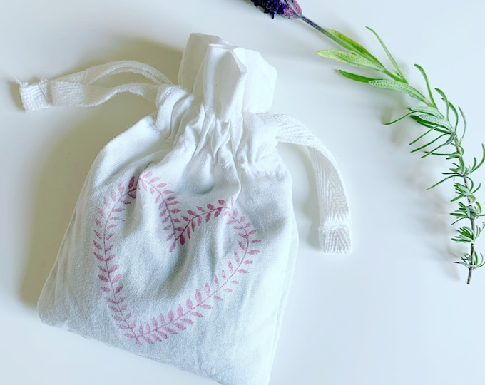 Cotton Lavender Bags