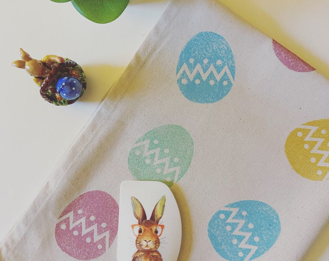 Easter Egg Tea Towel