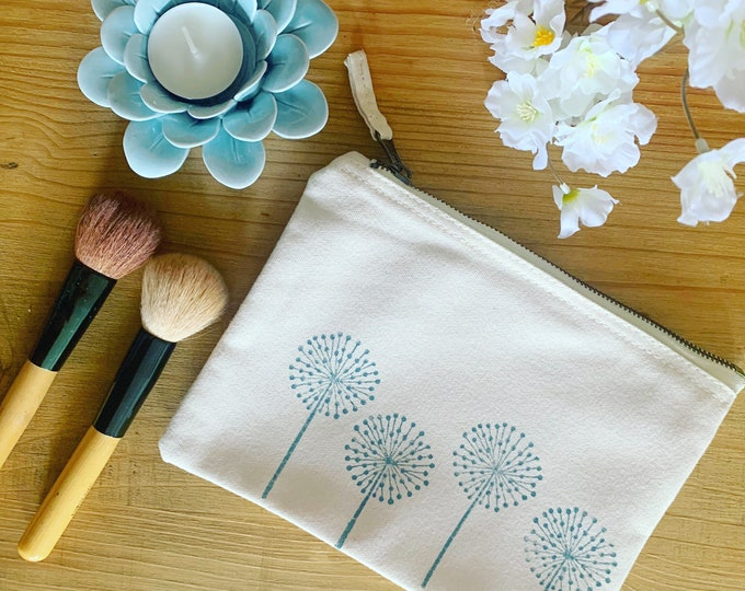 Dandelion Make Up Bag