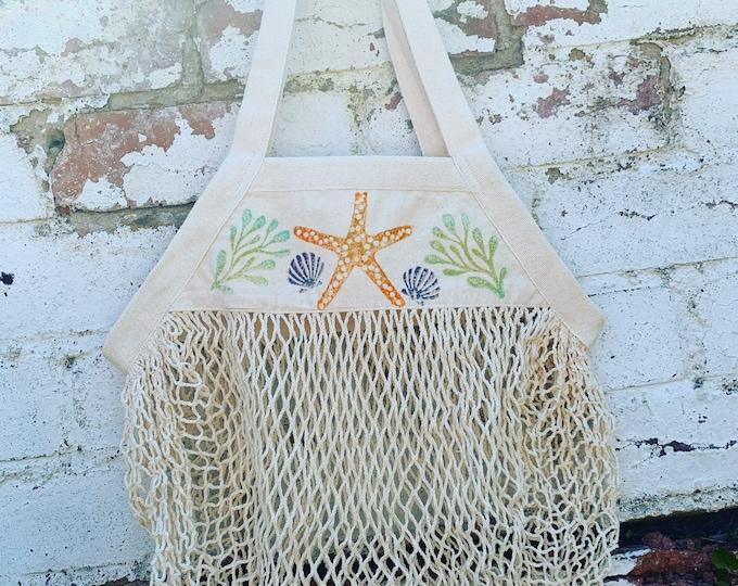 Seaside Net Shopping Bag