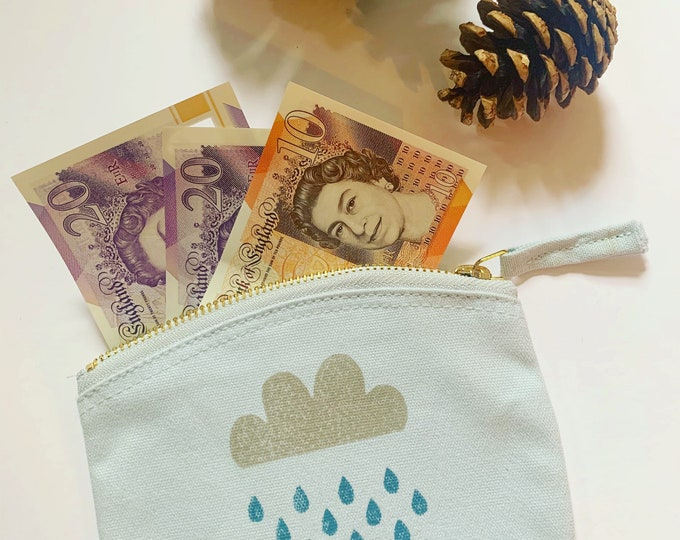 Rainy Day Fund Coin Purse