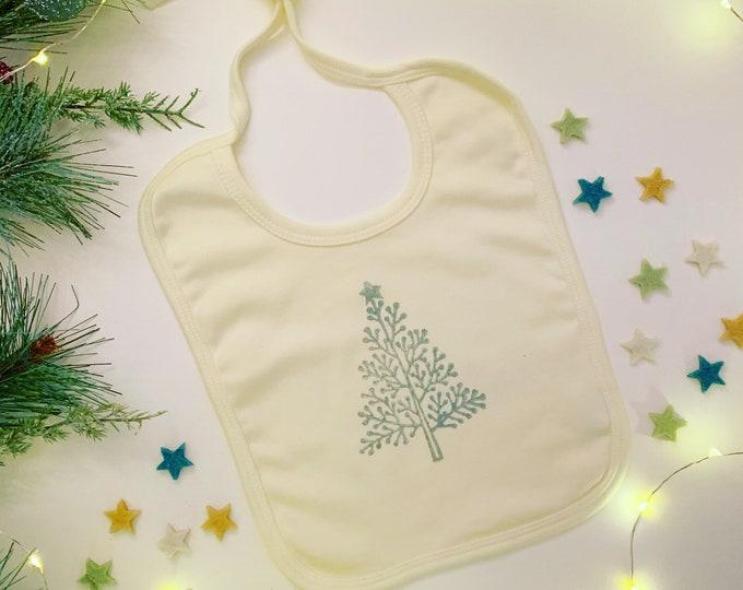 Christmas Tree Baby  Bib