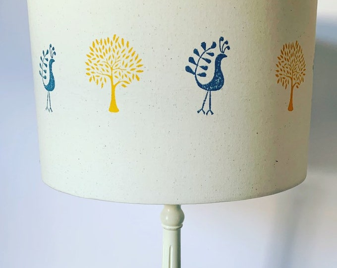 Peacock Tree Lampshade