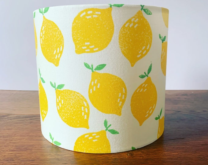 Lemon Lampshade