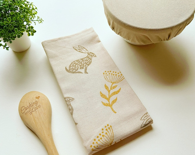 Hare & Thistle Tea Towel