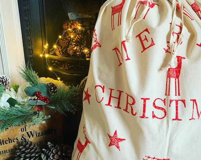 Personalised Giant Christmas Gift Sack