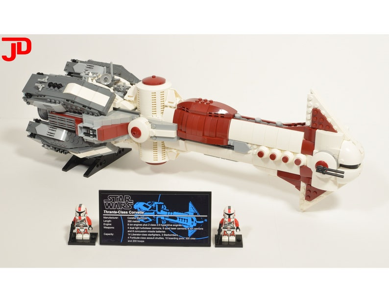 Instructions Only Lego Star Wars Ucs Thranta Class Corvette Collectors Edition Moc