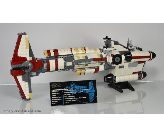 Instructions Only Lego Star Wars Ucs Hammerhead Corvette Collectors Edition Moc