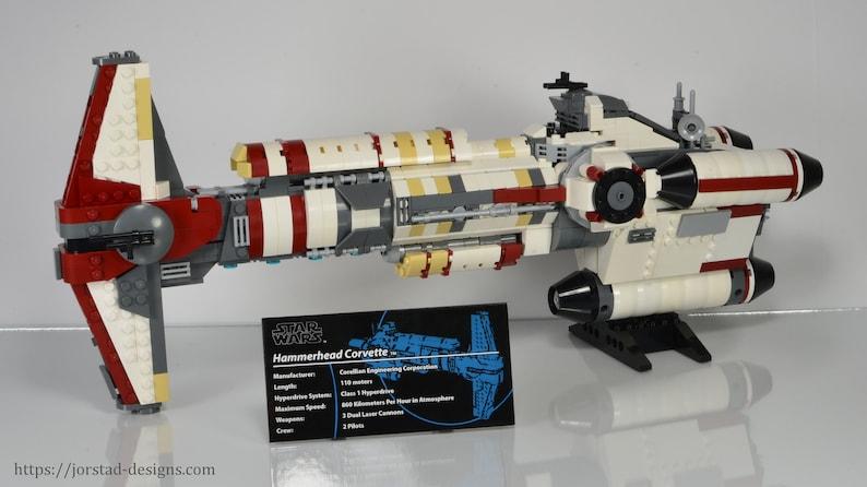 Lego Star Wars Ucs Hammerhead Corvette Star Wars Rebels Etsy
