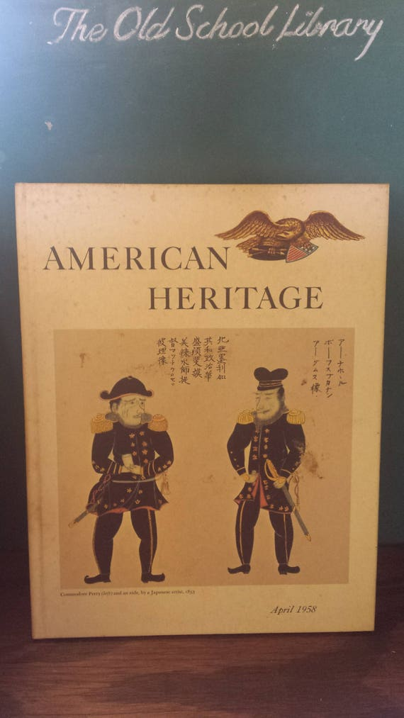 American Heritage Magazine, Hardcover 1957-58, 6 Issues