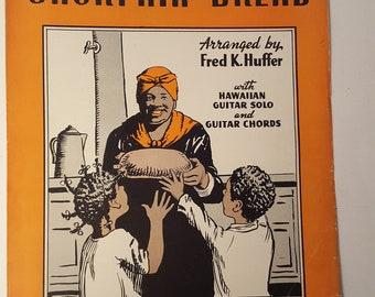 Short'nin' Bread Vintage Sheet Music 1939 Hawaiian Guitar