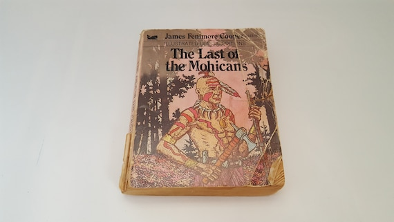 The Last Of The Mohicans Illustrated Classics Editions Etsy