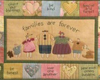 Family Matters Art To Heart quilts pattern by Nancy Halvorsen