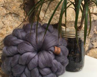 The Mini Filly Cushion - Chunky knit cushion - Merino Wool - Round cushion - Homeware - Housewarming gift
