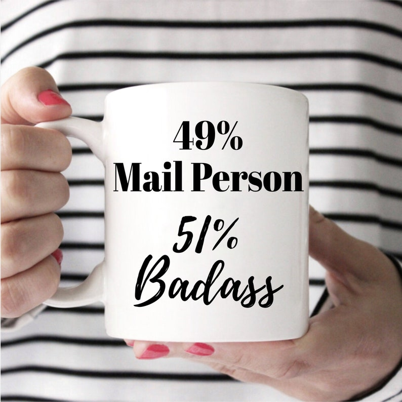 Mail Person Mug Mug for Mail Person USPS Gift Mail Person image 0