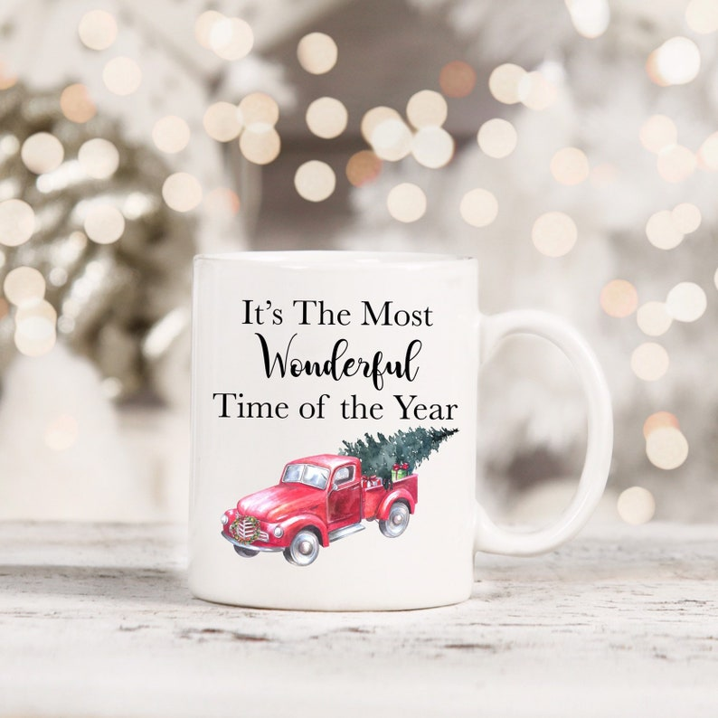 Its the most wonderful time of the year Christmas Mug image 0