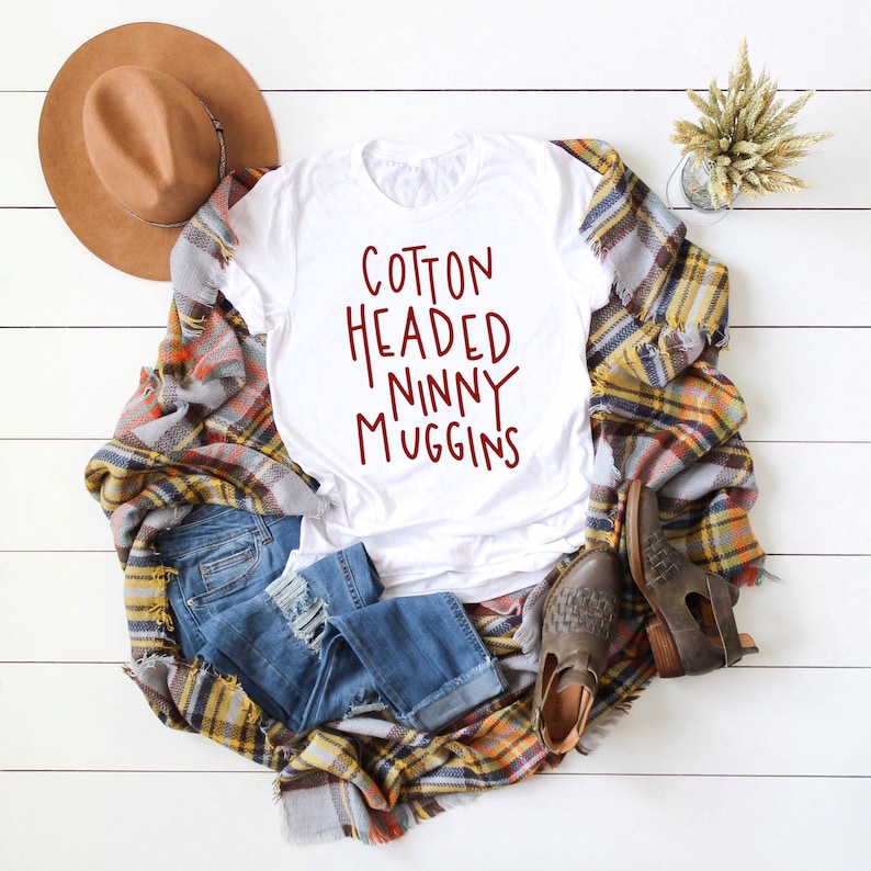 Christmas In July Cotton Headed Ninny Muggins Shirt Cotton image 0