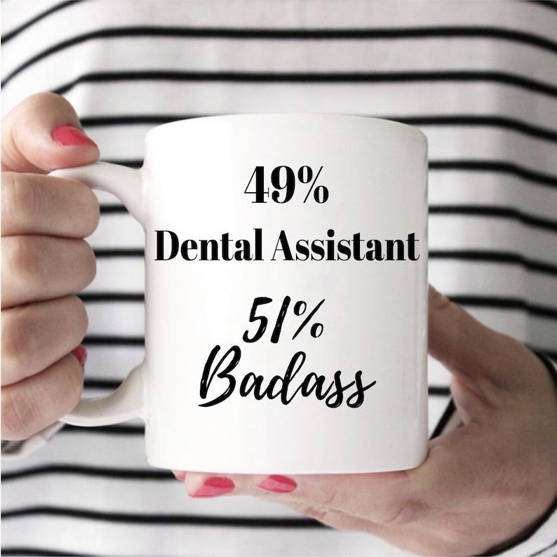 Dental Assistant Gift Dental Assistant Mug Dentist image 0