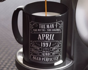 22nd Birthday Mug Personalized Gift Idea For Son Present 22 Year Old Men