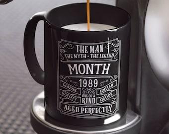 30th Birthday Mug Personalized Gift Idea For Son Present 30 Year Old Men