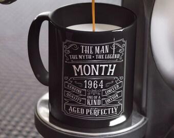 55th Birthday Mug Personalized Gift Idea For Grandpa Present 55 Year Old Men