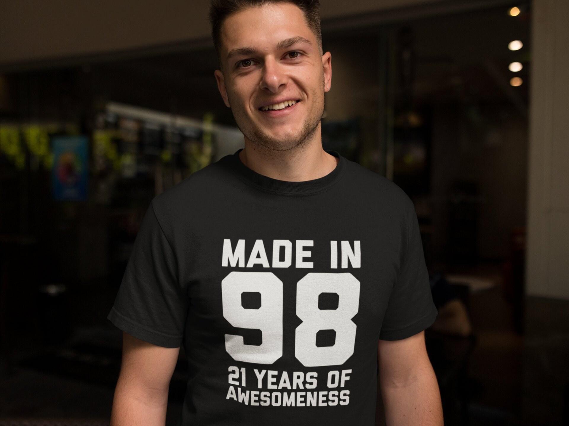 21st Birthday Shirt Boys Girls 21 Year Old Gift Son