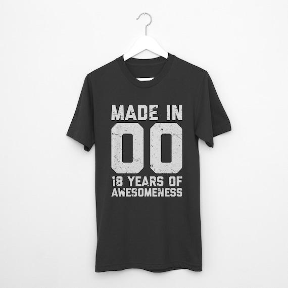 18th Birthday Shirt Gift Eighteenth
