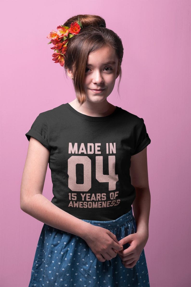15th Birthday Shirt For Girls 15 Year Old Tshirt