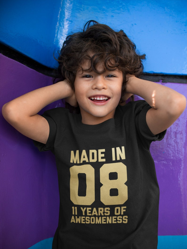 11th Birthday Shirt For Kids Gift 11 Year Old