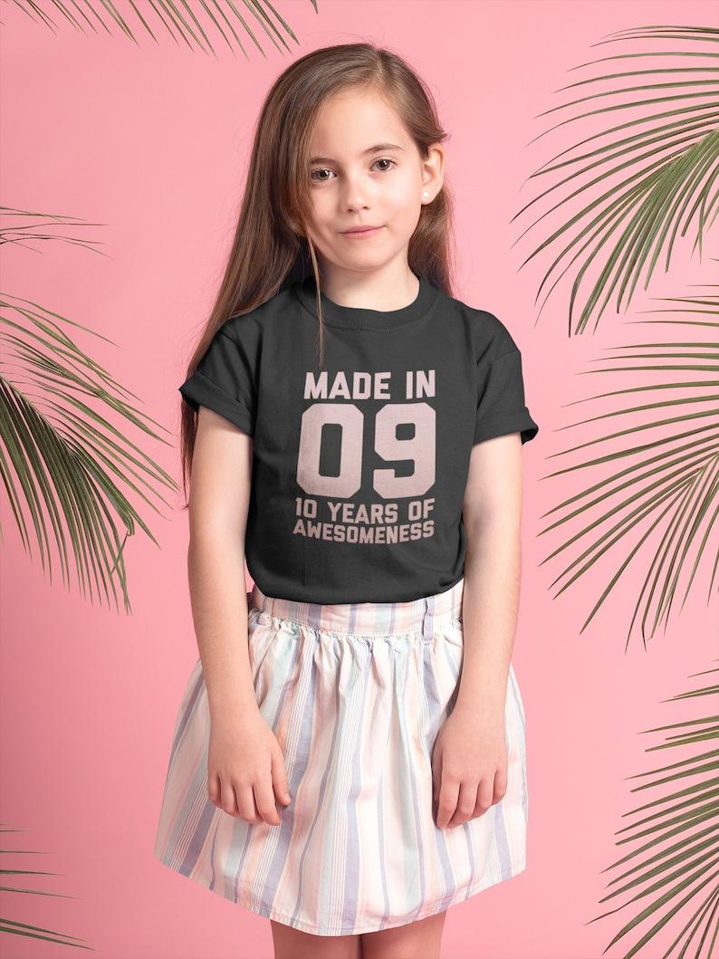 10th Birthday Shirt For Girls Gift Ideas 10 Year