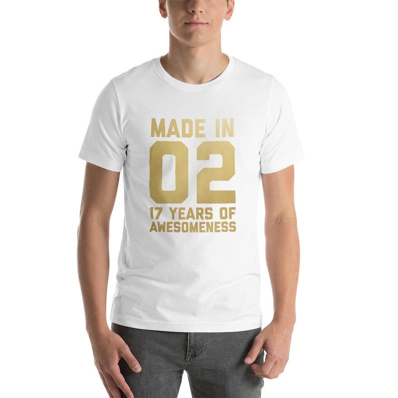 17th Birthday Shirt For Boys Girls Gift