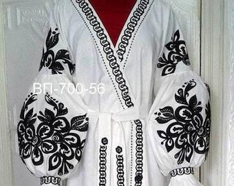 Embroidered Boho Dress Ukrainian Linen Dress Vyshyvanka for women's Maxi Dress Chic Ethnic dress Modern Folk Bohemian dress