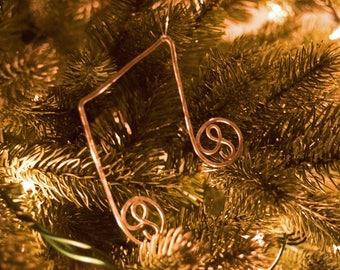 Chirstmas Music 1/8 Notes, gold music note, silver music note, music collection, Christmas song, Christmas Carol