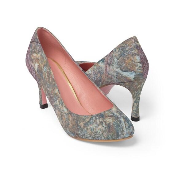 talons, chaussures en marbre, des talons hauts, chaussures hauts talons, chaussures de mode, talons de mariage, motif marbre, marbrées accessoires, chaussures à talons hauts en marbre