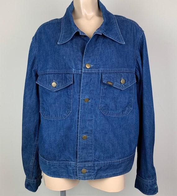 Vintage 70s LEE Denim Jacket Jean Jacket