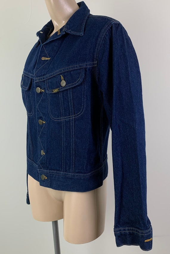 Vintage 70s LEE Denim Jacket Jean Jacket - image 2