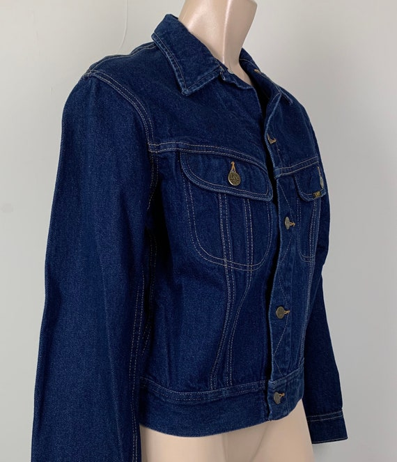 Vintage 70s LEE Denim Jacket Jean Jacket - image 3