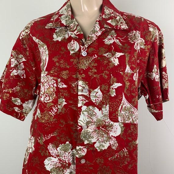 Vintage 50s Mens Koret California Hawaiian Shirt