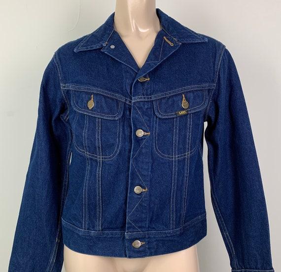 Vintage 70s LEE Denim Jacket Jean Jacket - image 1