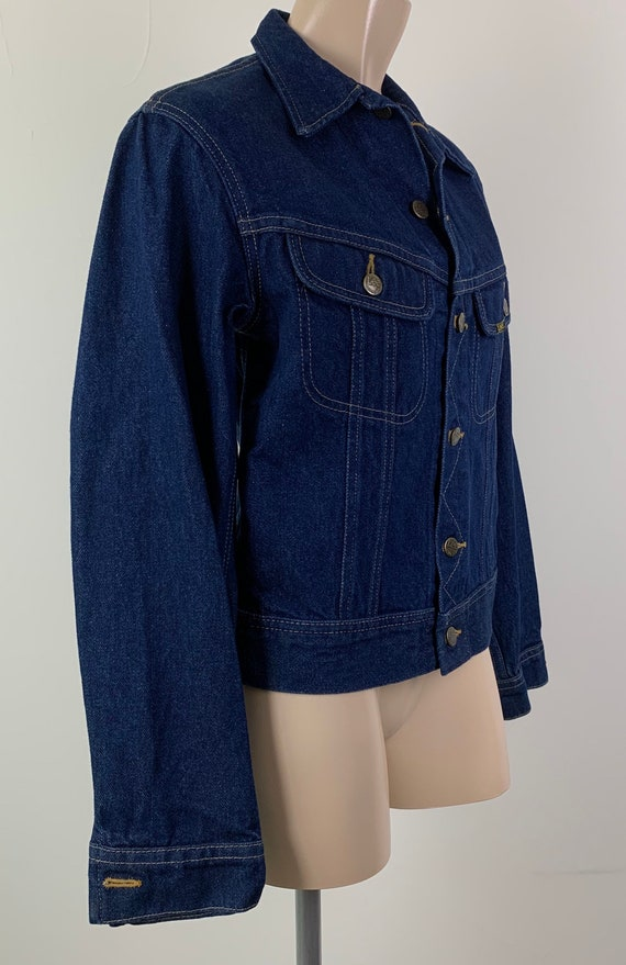 Vintage 70s LEE Denim Jacket Jean Jacket - image 3