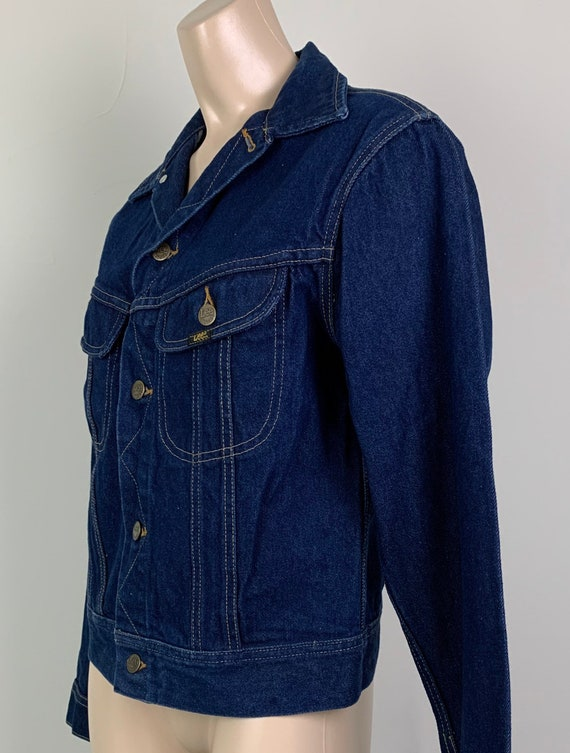 Vintage 70s LEE Denim Jacket Jean Jacket - image 2