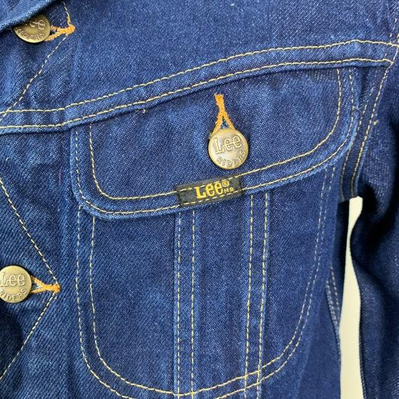 Vintage 70s LEE Denim Jacket Jean Jacket - image 5