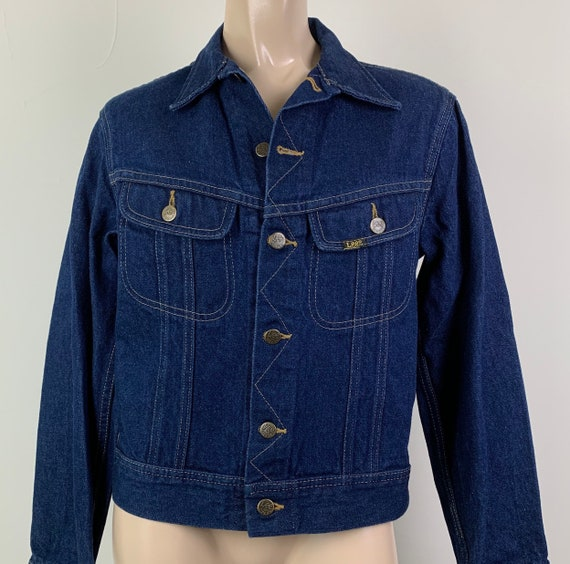 Vintage 70s LEE Denim Jacket Jean Jacket - image 4
