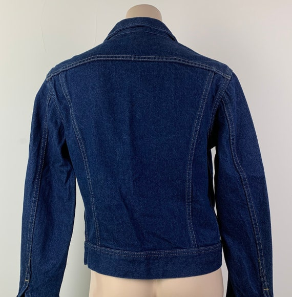 Vintage 70s LEE Denim Jacket Jean Jacket - image 5