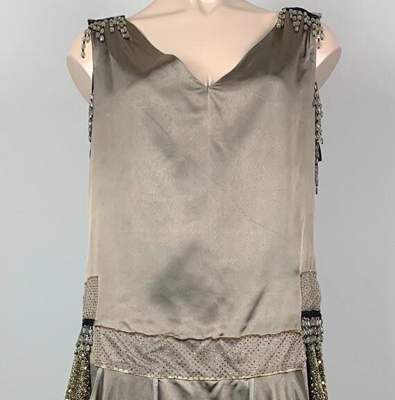 20s Style Art Deco Speakeasy Flapper Dress